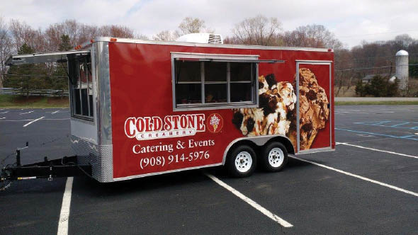 Cold Stone Creamery Catering Truck in Hackettstown NJ