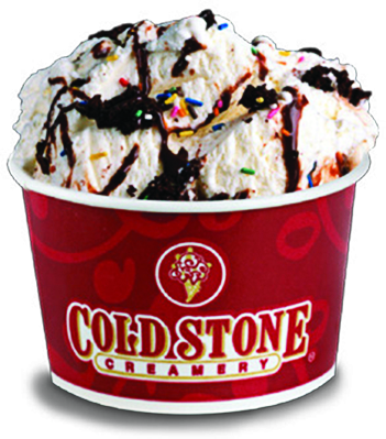 Yummy Cold Stone Creamery Ice Cream in Hackettstown NJ