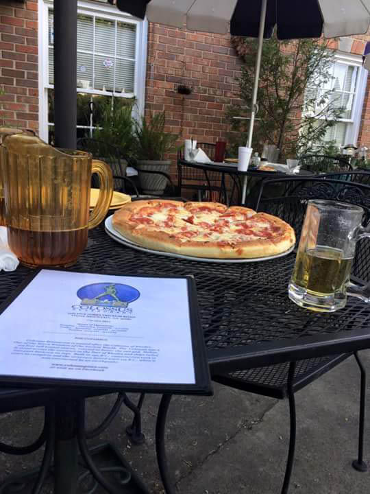 Dine al fresco on our patio in Tucker, GA