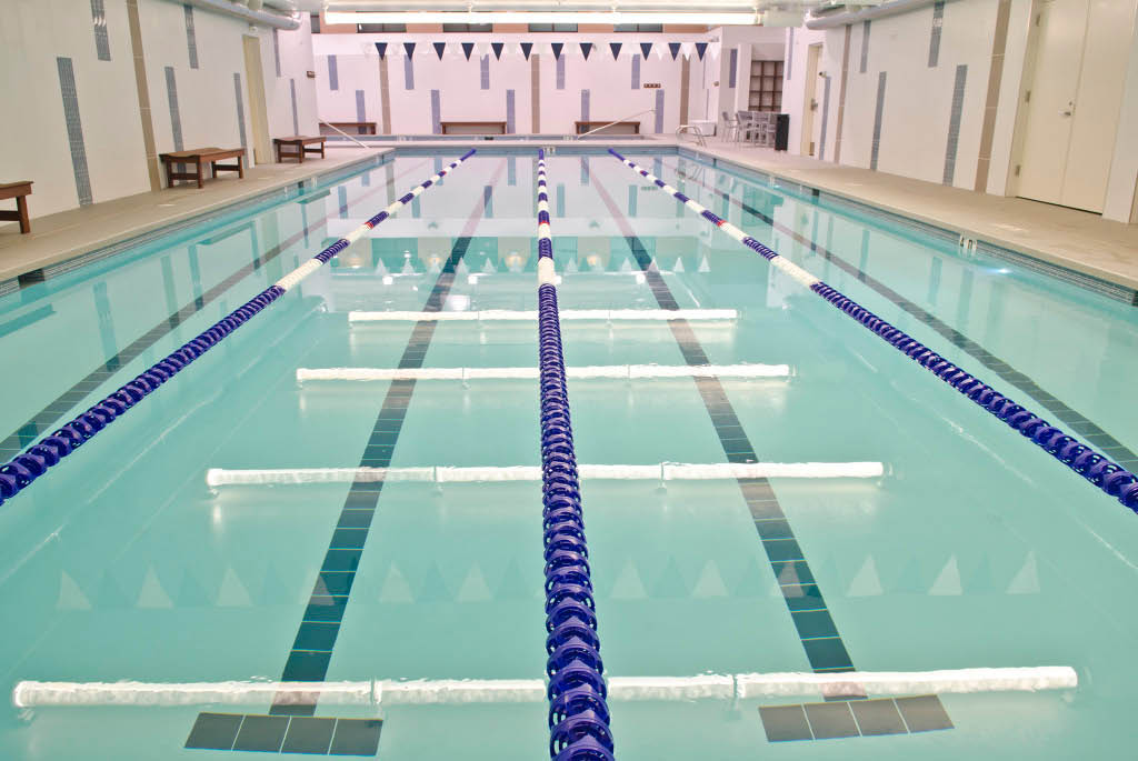Columbia Athletic Club Juanita Bay state-of-the-art swimming pool and aquatic center - Kirkland, Washington