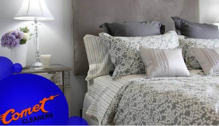comet-cleaners-banner-garland-tx-comforter-bedspread