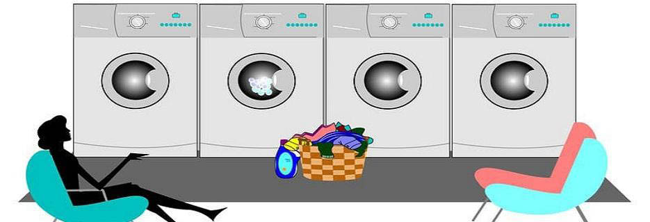 Community Laundromat in Agawam, MA Banner ad