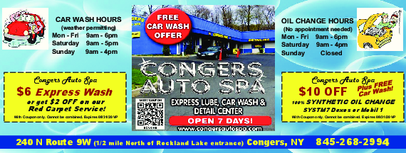 congers auto spa coupons