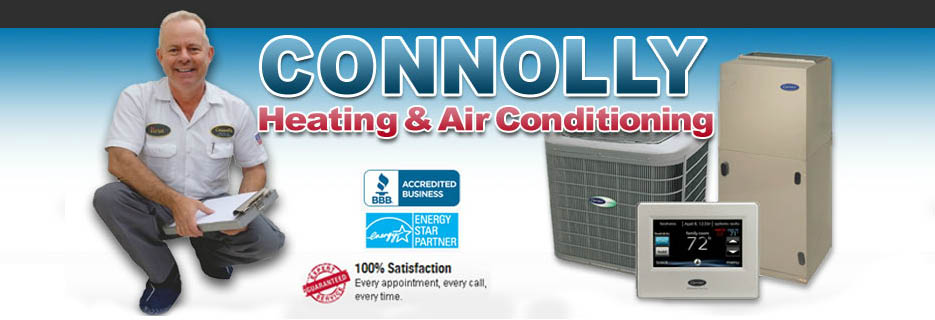 Connolly Heating & Air Conditioning in Pacheco, CA banner ad
