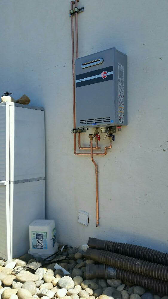 Let us install a tankless water heater in your home in Richmond