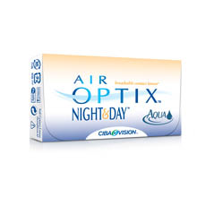 Ciba Vision Air OPTIX extended wear contacts are available at walgreens.com.