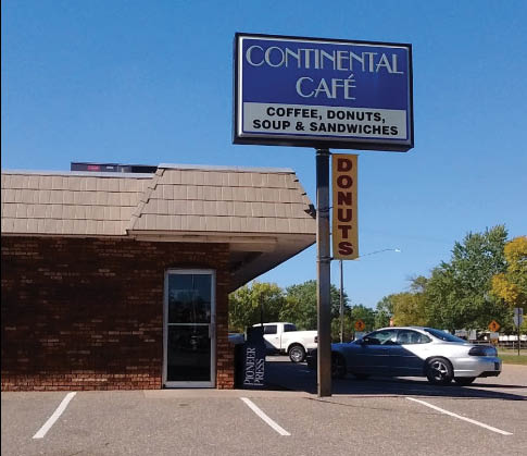 Continental Cafe Handy Location