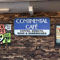 Continental Cafe Good Eats!