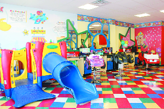 Play area experience for kids