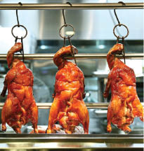 Cooking Papa Chinese Restaurant in Mountain View and Santa Clara, CA offers fresh roasted duck