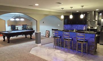 corcoran basement remodeling cincinnati ohio