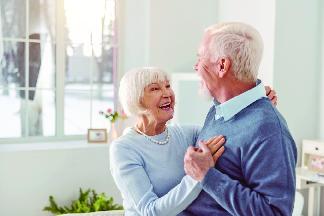 cottingham the retirement community logo assisted living happy couple cincinnati ohio