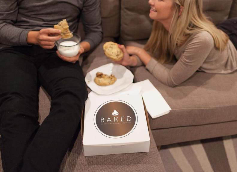 You can enjoy BAKED cookies delivered to your home in Highland, American Fork, and Lehi, Utah.