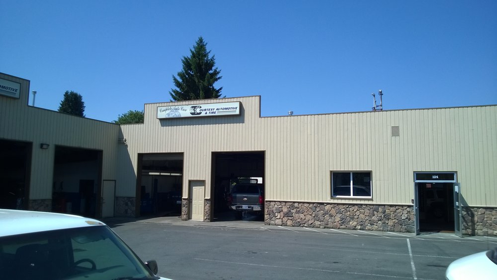 Courtesy Automotive & Tire auto shop in Monroe, WA
