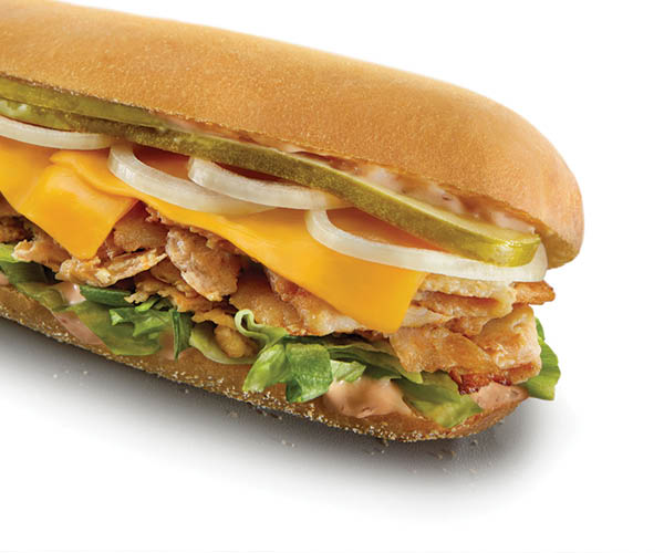 big chicken n cheese sub