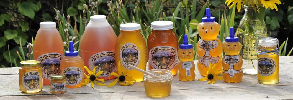 Cox Honeyland Assortment of Products