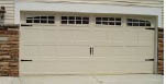 photo of garage door from Crawford Door in Lansing, MI