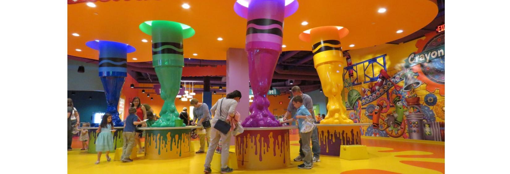 CRAYOLA EXPERIENCE in Plano, TX - Local Coupons September 24, 2018