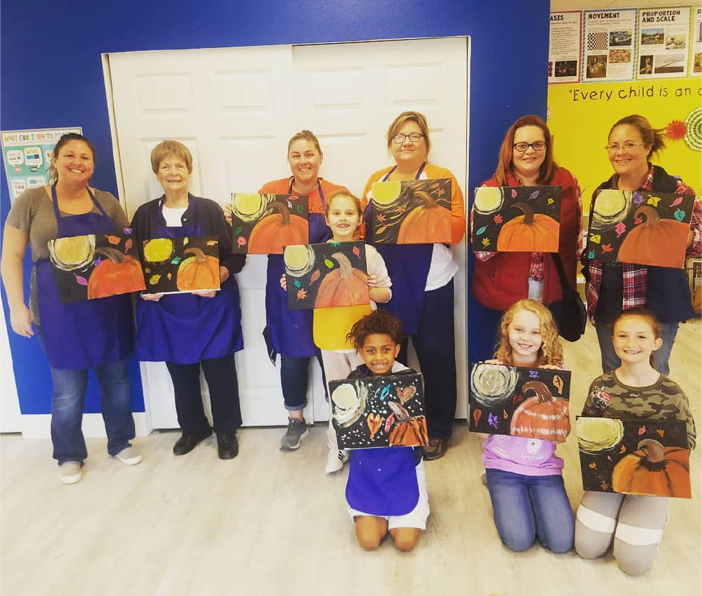 Painting classes for adults - painting classes for kids - art classes for adults - art classes for kids - Create & Gogh arts & crafts studio in Graham, Washington