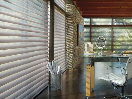 Creative Interiors Hunter Douglas Silhouette window sheers