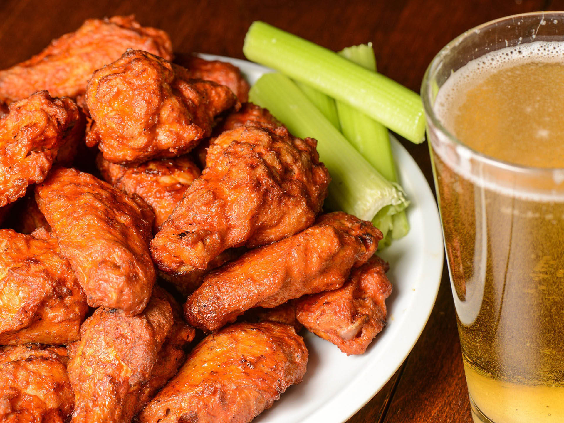 Wings and Beer, Great Combination
