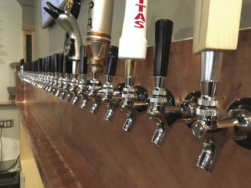 Our taproom is loaded with 30 craft brews from over 25 different breweries