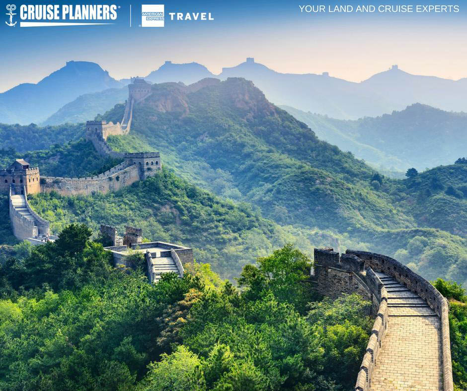 Cruise Planners Howard County Columbia Maryland Great Wall of China