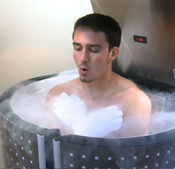 Experience the JUKA Whole Body Cryotherapy Chamber in Corte Madera, CA