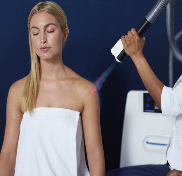 Localized Cryotherapy treatment to increase wellness to specific areas