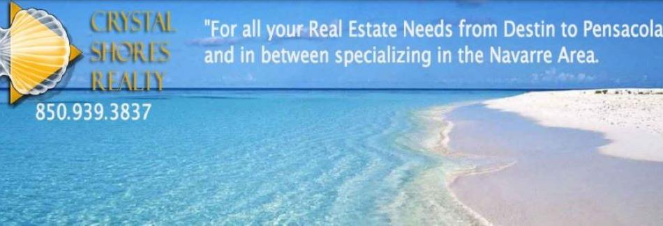 Crystal Shores Realty - Navarre, Florida banner