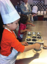 Cooking class for kids baking