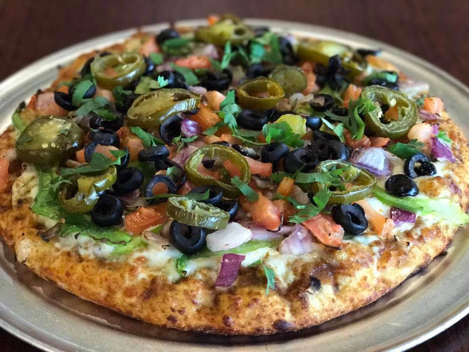 Curry Veggie Pizza in Fremont, CA