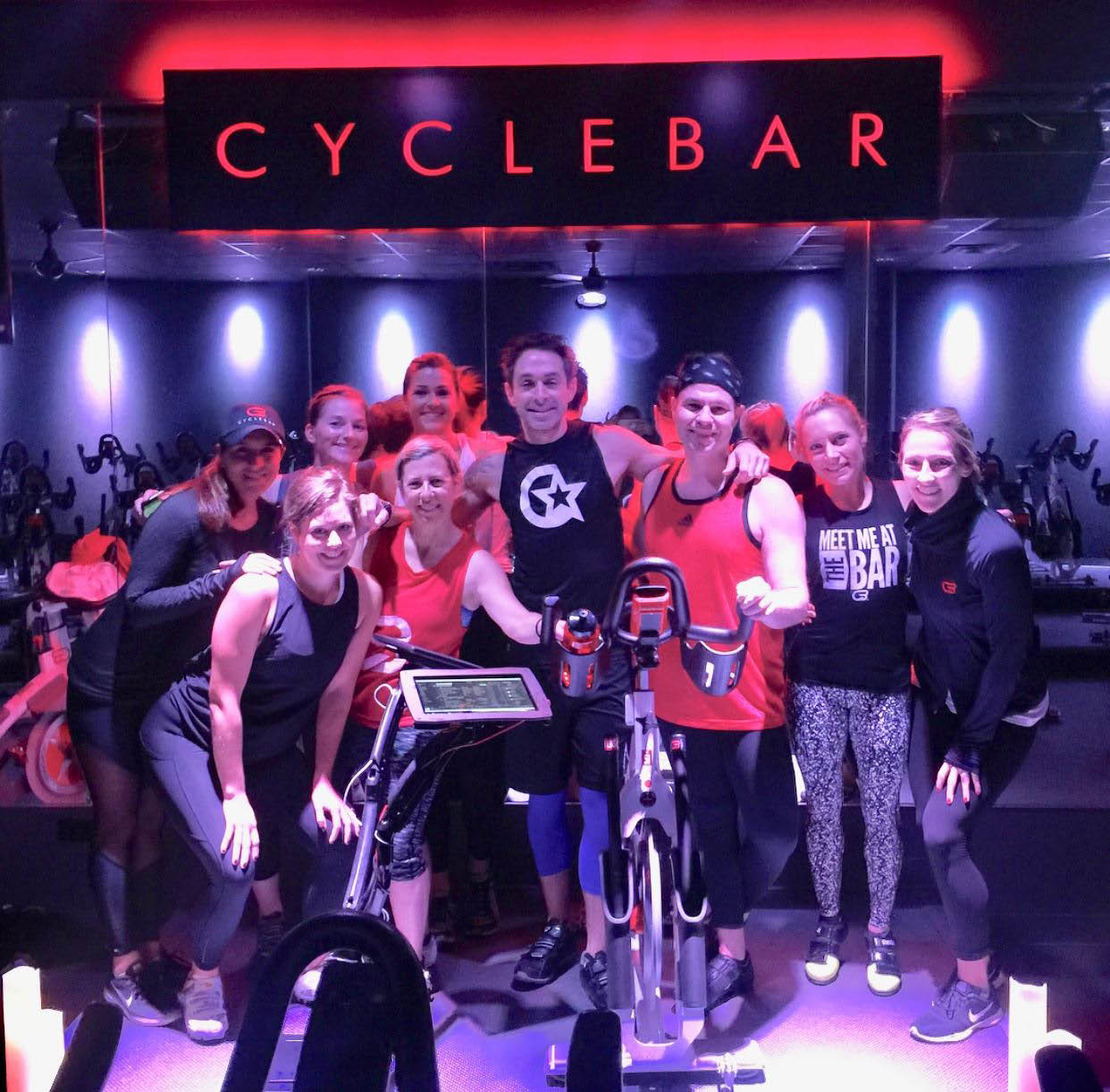Spin classes at CycleBar