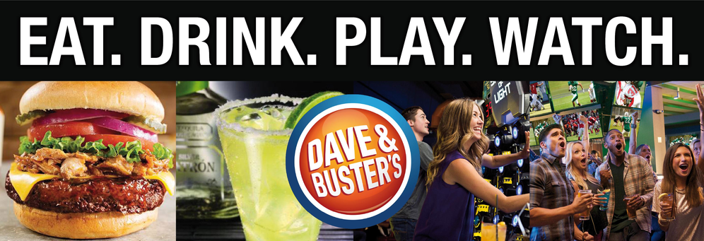 Dave & Buster's | Events - Arcade - Sports Bar and RestaurantEat. Drink. Play. Watch · Customizable Menus · Book Now · Book Your Party TodayAmenities: Restaurant, Arcade, Private Rooms, Semi-Private Rooms, Barcade.
