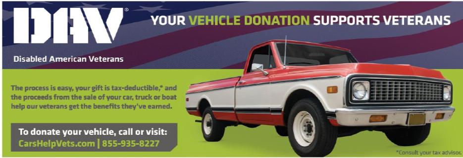 dav disabled american veterans car donation