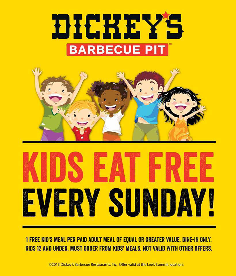 Bring the children for some free food.