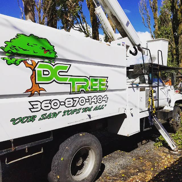 Photo of DC Tree truck - professional tree service - Chehalis, WA