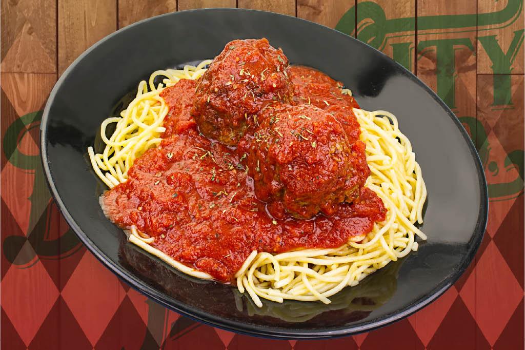 Italian, meatballs, pasta, homemade