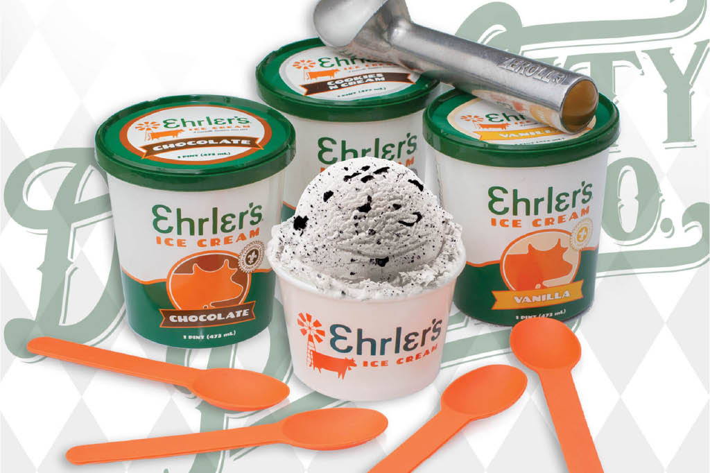 Ice Cream, Ehrler's, Kids Menu,