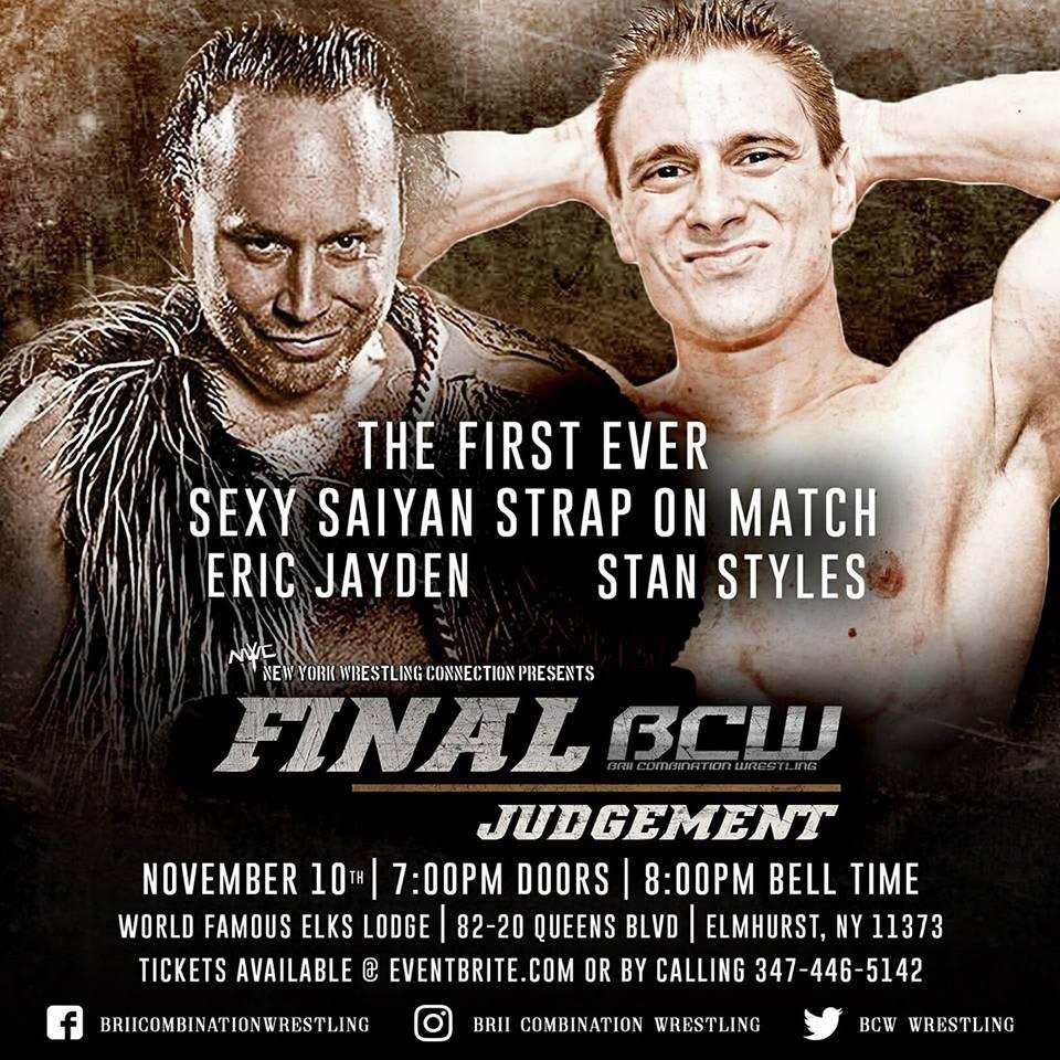 Watch wrestling near Manhattan