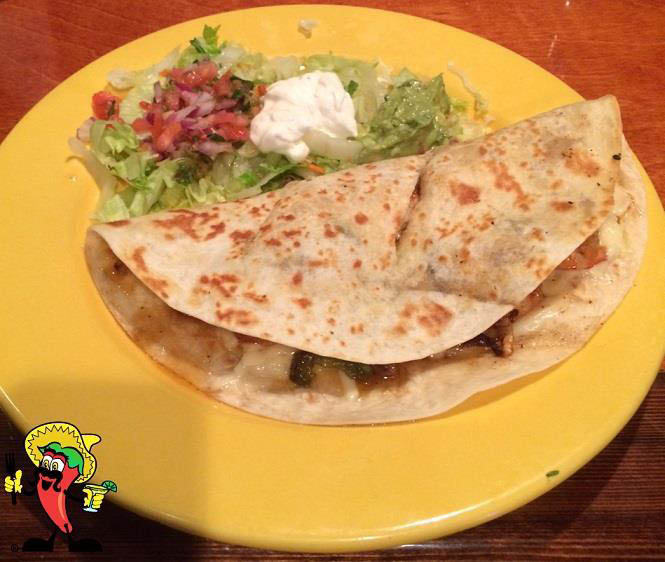 Don Peppers Mexican Grill & Cantina in Ormond Beach Shrimp Quesadilla