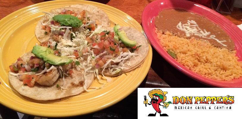 Don Peppers Mexican Grill & Cantina in Ormond Beach Combo Plate