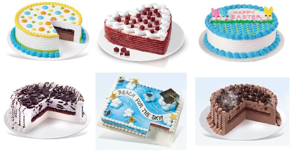 Picture of  Ice Cream cakes available for purchase at DQ - Kenosha near Racine, WI