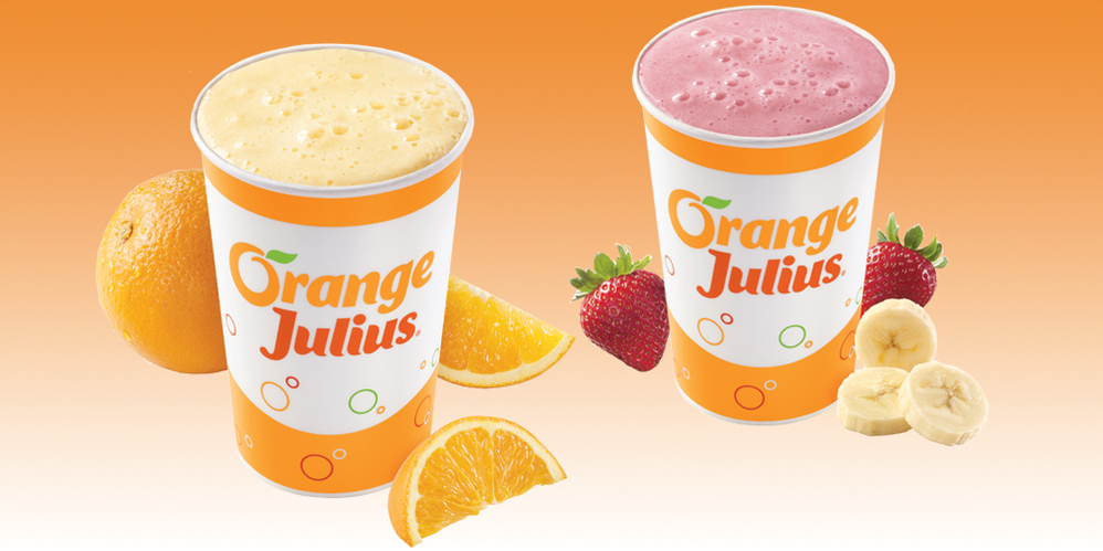 ORANGE JULIUS classic drinks from Diary queen near me discounts and coupons