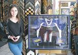 Dadeland Framing in Miami frames treasured, collectible memorabilia