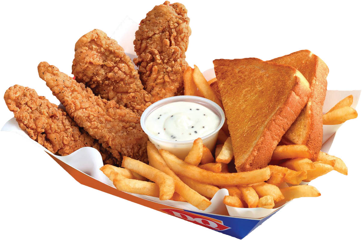 DQ Chicken Snackers with fries near Tarry Town