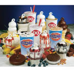 Dairy Queen ice cream sundaes, Blizzards and other treats