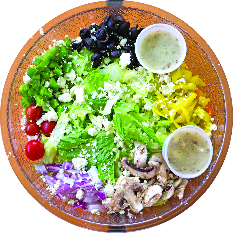Summertime in Summerville with D'al's Pizza Salad