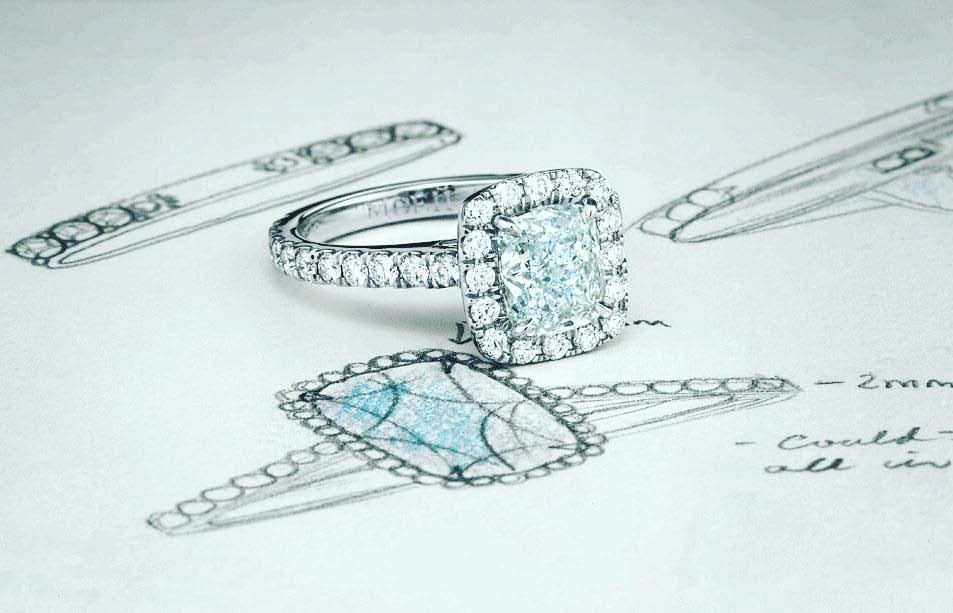Design your own jewelry at D'Andrea's Jewelers in Sussex NJ