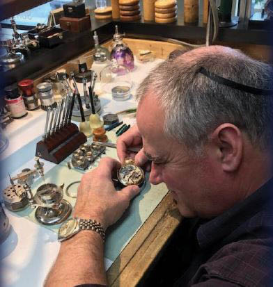 Danielson Jewelers in Redmond, Washington - home of the in-house goldsmith and Swiss-trained watchmaker - watch repair - jewelry stores